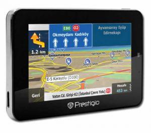 Aвтомобильный GPS навигатор Prestigio 5766HD с программой навигации iGO Primo Европа