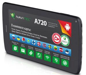 Автомобильный GPS навигатор с 3G и картами Навител Navitel A720