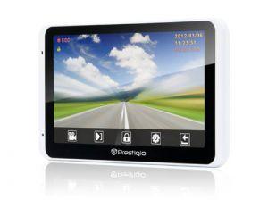 Автомобильный GPS навигатор Prestigio 5800 BT HD DVR со встроенным видеорегистратором